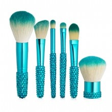 This is one of my favorites on e.l.f.: 6-Piece Gem Brush Collection. Use this special link and get five dollars off.