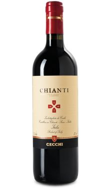 Cecchi Chianti - Chianti is the roots of Tuscany. Cecchi Chianti is produced in prevalence from Sangiovese grapes. Ruby red tending to garnet with aging, it is strong and persistent. The palate is soft and well- balanced
