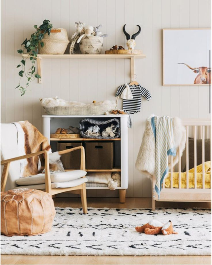 @alexandcorban is nursery goals  LOVE love love this neutral look and all the…