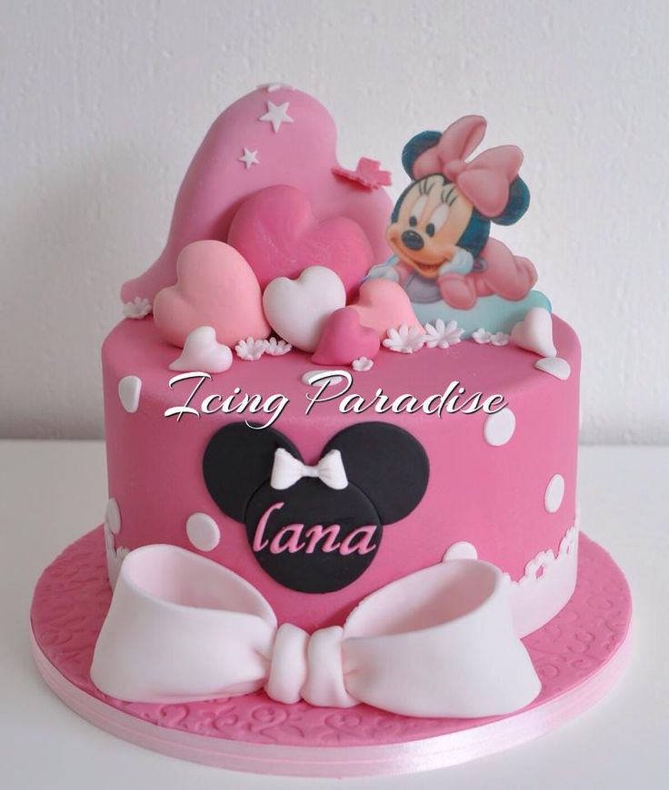 17 Best Images About Mickey Minnie Mouse Cakes On