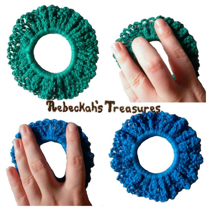 Crochet Scrunchy Free Pattern