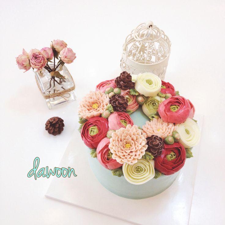 buttercream flowercake