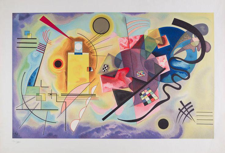 Vasili Kandinsky - Vasili Kandinsky  SIN TÍTULO (Untitled)1925, Soporte 44 x 62.5 cm, Reproducción, Colección INBA/MACG - Museo de Arte Carrillo Gil