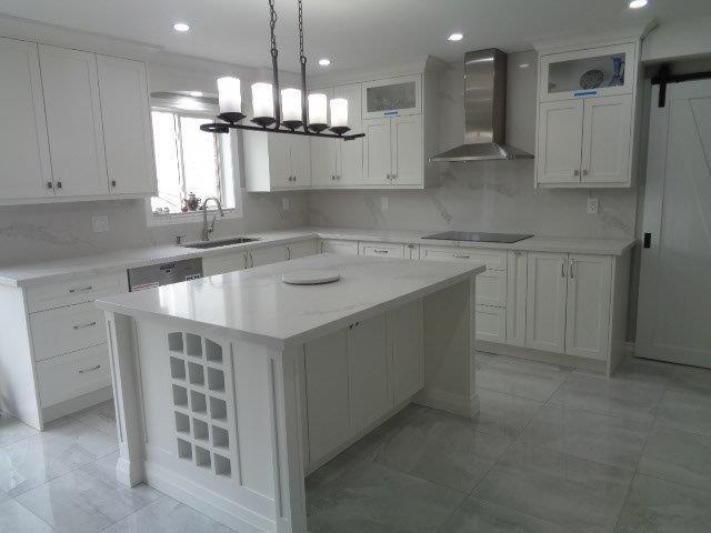 All White Kitchen Countertops Rahma Granites Quartz Kitchen Cabinets 133 Taunton Rd W 16 Kitchen Cabinets And Backsplash Kitchen Countertops Kitchen Decor