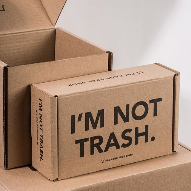 Package Free Shop Ships Completely Plastic Free In 100 Post Consumer Recycla Environmentally Friendly Packaging Creative Packaging Design Ecommerce Packaging