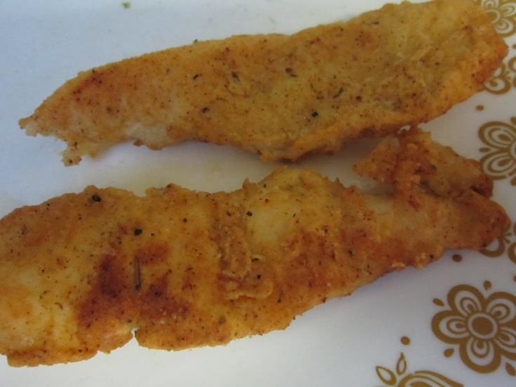 Fried fish coating mix make your own fish fingers for Homemade fish fry