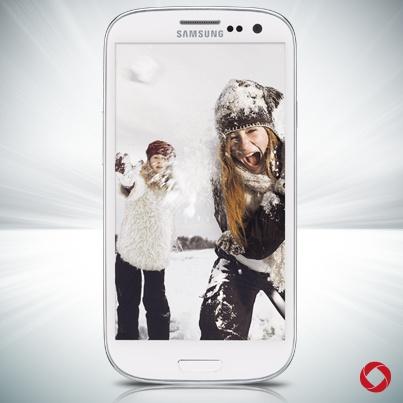 White Samsung Galaxy Note II #RogersWinterWhites