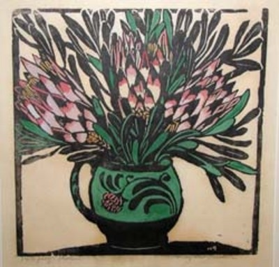 Proteas by Margaret Preston