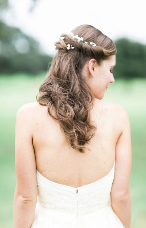 Wedding hairstyle idea; Featured Photographer: Korie Lynn Photography