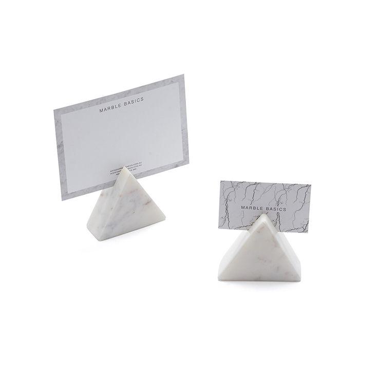Marble Basics CHIEF CARD HOLDER