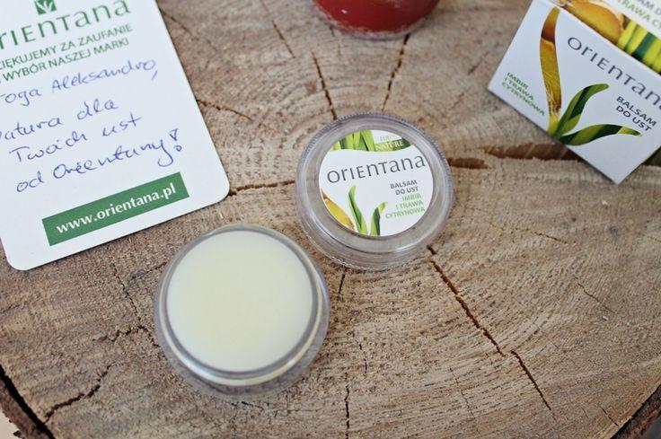 Olusky: Kosmetyki naturalne z roślin azjatyckich | Orientana balsam do ust imbir i trawa cytrynowa