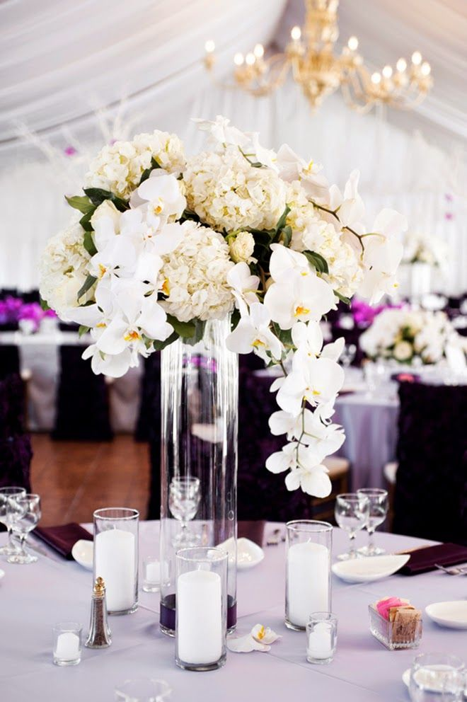 Floral Decor: 177 Best Images About Tall Centerpieces On Pinterest