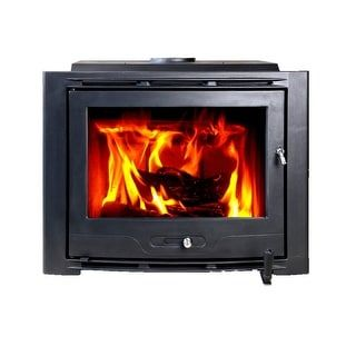 HiFlame Highlander HF577IU7 Large Cast Iron Wood Fireplace Insert | Overstock.com Shopping - The Best Deals on Indoor Fireplaces