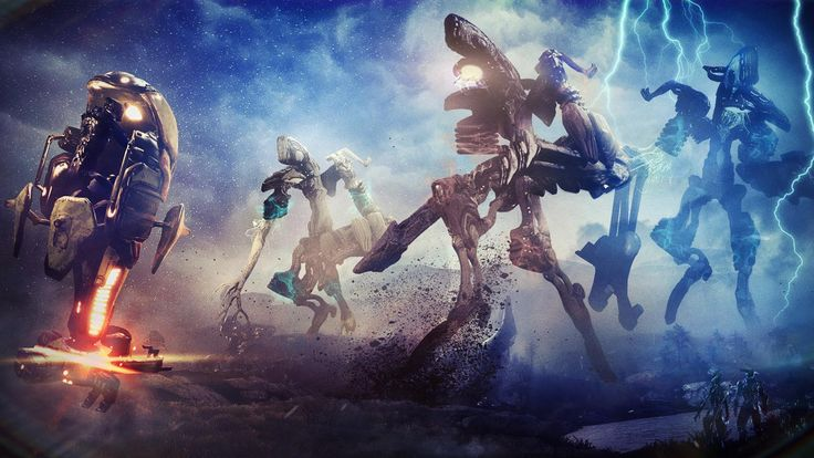 New Warframe Update Introduces Two Gargantuan New Eidolons #Playstation4 #PS4 #Sony #videogames #playstation #gamer #games #gaming