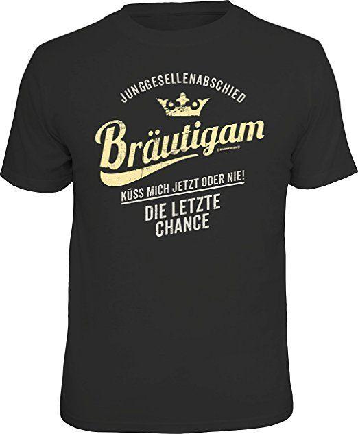 Das ideale Geschenk!  Original RAHMENLOS T-Shirt zum Junggesellenabschied für den Bräutigam