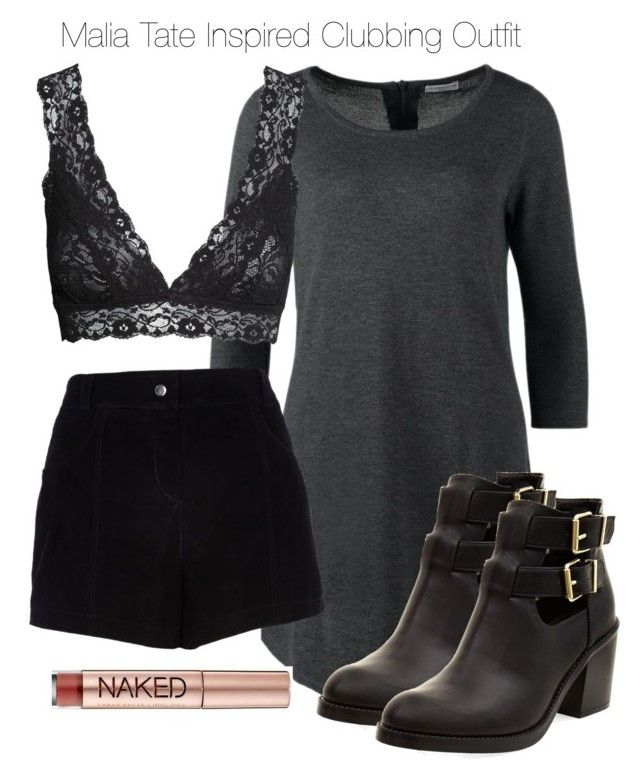 """Teen Wolf - Malia Tate Inspired Clubbing Outfit"" by staystronng ❤ liked on Polyvore featuring Jacqueline De Yong, River Island, H&M, Urban Decay, NightOut, tw and maliatate"