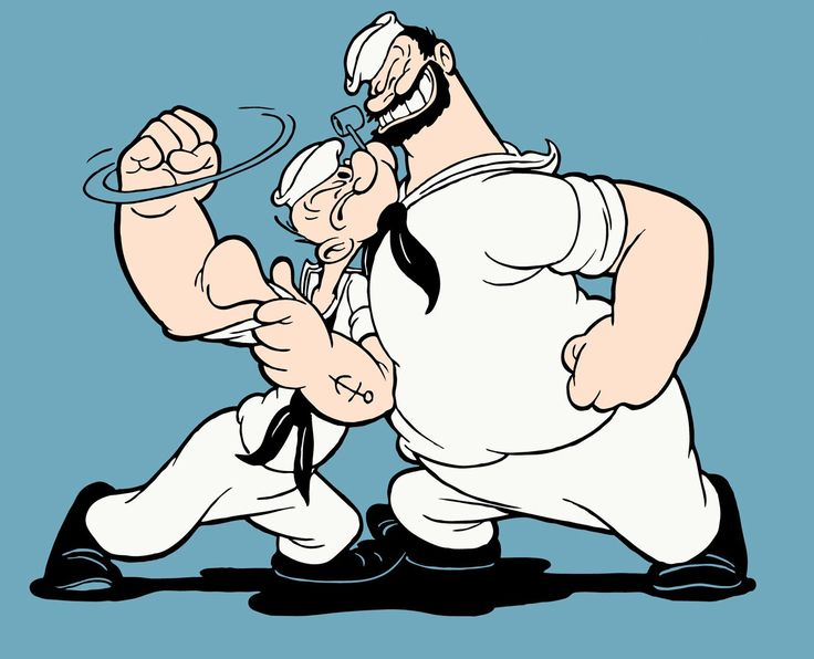 Image result for popeye and brutus