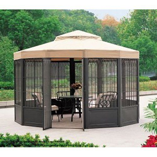 replacement canopy for sam 39 s club sunhouse gazebo by garden winds this gazebo was sold. Black Bedroom Furniture Sets. Home Design Ideas