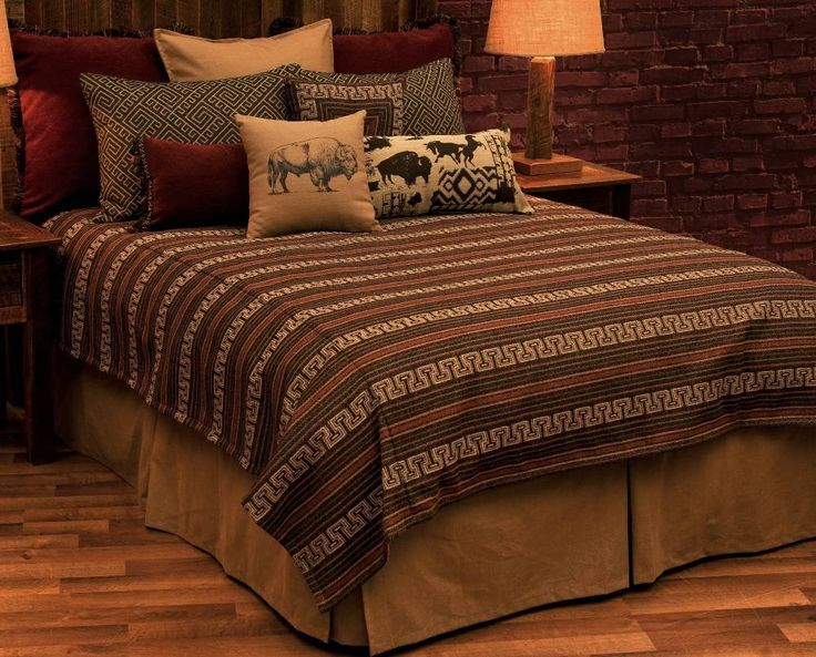 Monument Deluxe Southwestern Bedding Ensemble Set by wooded river offers a  distinct Southwest look to the. 79 best Southwestern Bedrooms images on Pinterest   Bedding sets