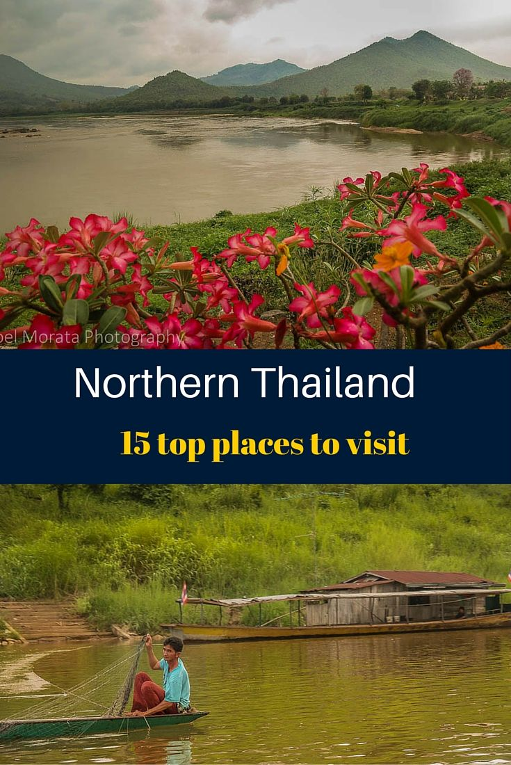 15 top places to visit in Northern Thailand includes the major attractions, cities and unusual places that are far from the tourist crowds that typically visit Thailand. Click on image for more images and details