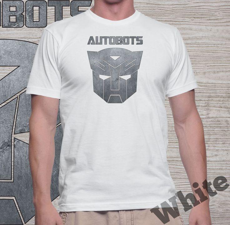 "Jual Kaos Movie Transformers ""Autobots"" (k. putih) - Yoyaku Shop | Tokopedia"
