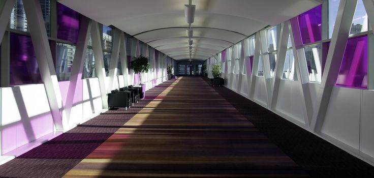 Magenta Hallway by Michael Inglese on 500px