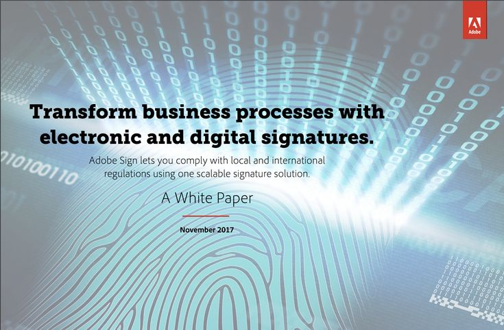 Adobe - Transform Business Processes with electronic and digital signature solutions.pdf