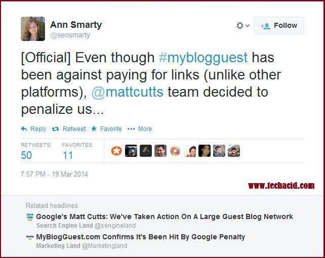 Google Penalizes MyBlogGuest.com – Is Guest Blogging Dead Now?