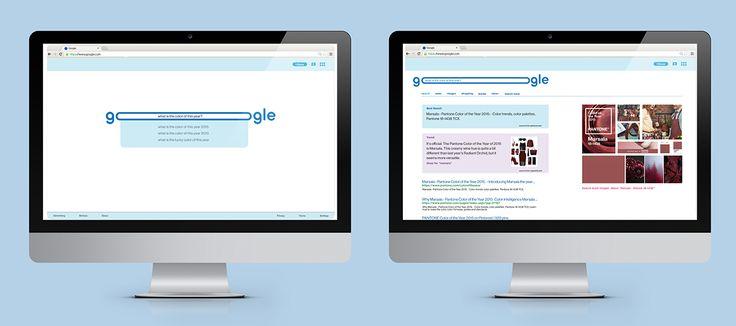 Google Rebranding on Behance
