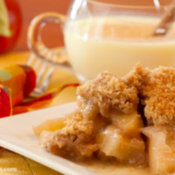 Slow Cooker Apple Crisp. . I substitute Splenda w/ brown sugar and whole wheat pancake mix in this recipe..