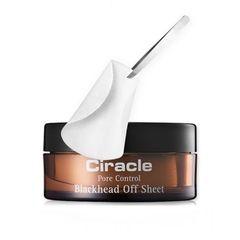 Маски для удаления черных точек CIRACLE Blackhead Off Cotton Mask (5ml*20шт) - купить в Москве, описание, фото, отзывы