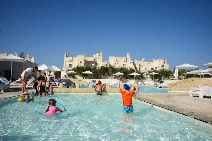 Children's swimming pool, Borgo Egnazia