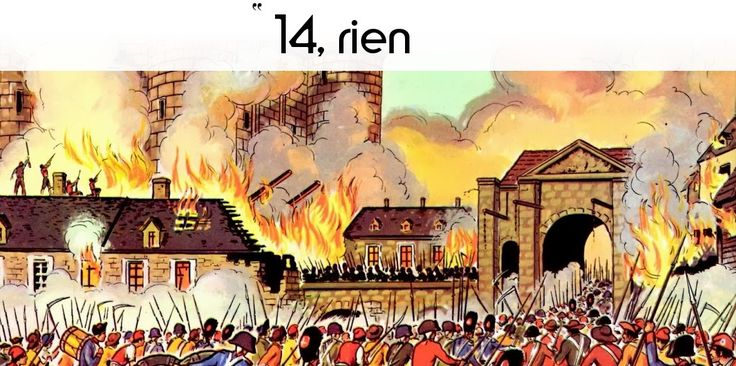 """14 juillet 1789 : La prise de la Bastille. Ce """"rien"""" dans le carnet de Louis XVI n'a rien de surprenant, car..."""