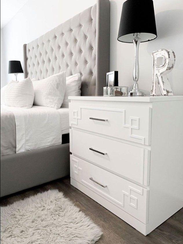 O Verlays Pippa 3 Kit For Ikea Malm 3 Drawer Dresser Furniture Overlays Ikea Furniture Ikea Hack Living Room