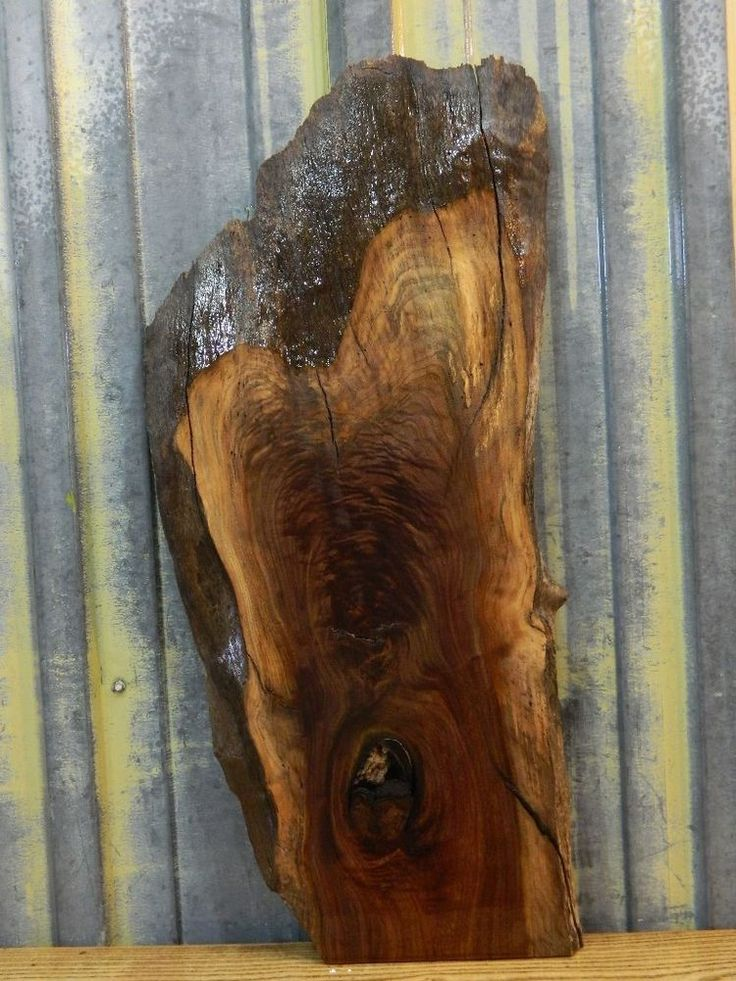 Very Rustic Black Walnut Lumber/Reclaimed Craftwood Slab 8404