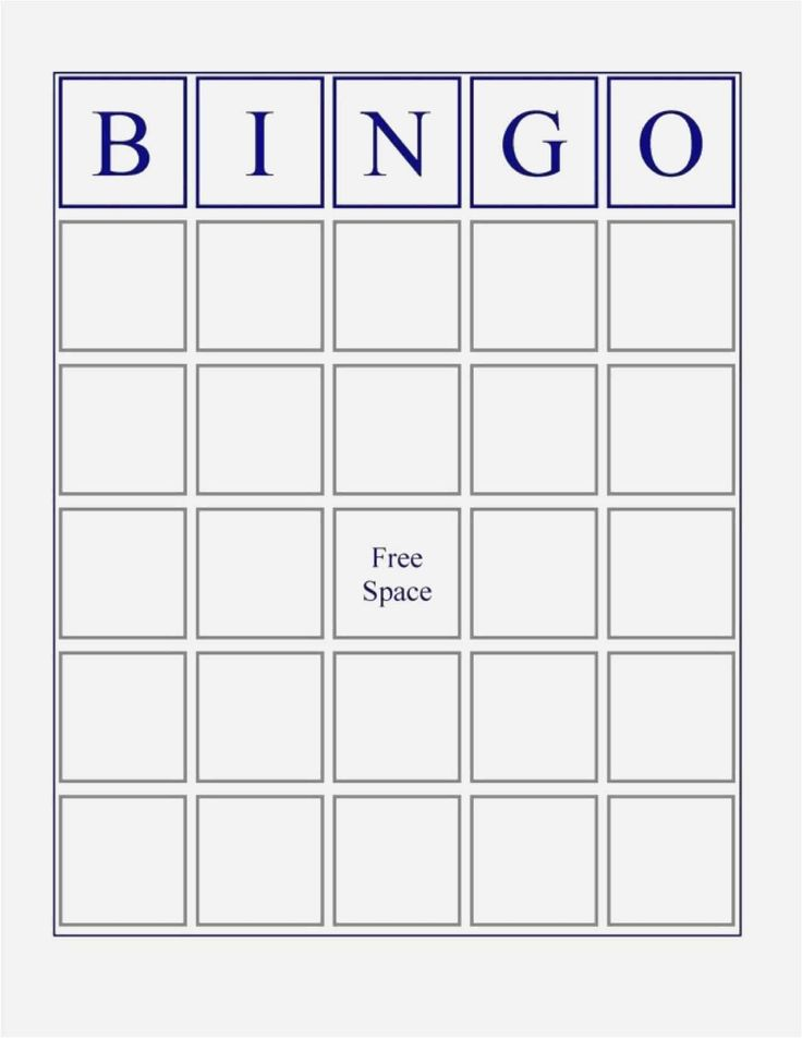 Free Collection Blank Bingo Card Template Microsoft Word Blank Bingo With Bingo Card Template Word Blank Bingo Cards Bingo Cards Printable Bingo Card Template