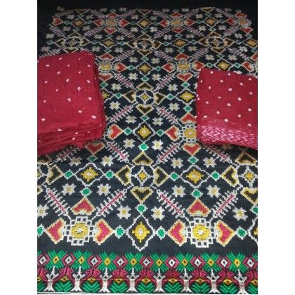 Kutchi Embroidery Dress Material (KD0098)