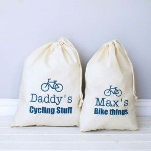 Two very cool cycling bags