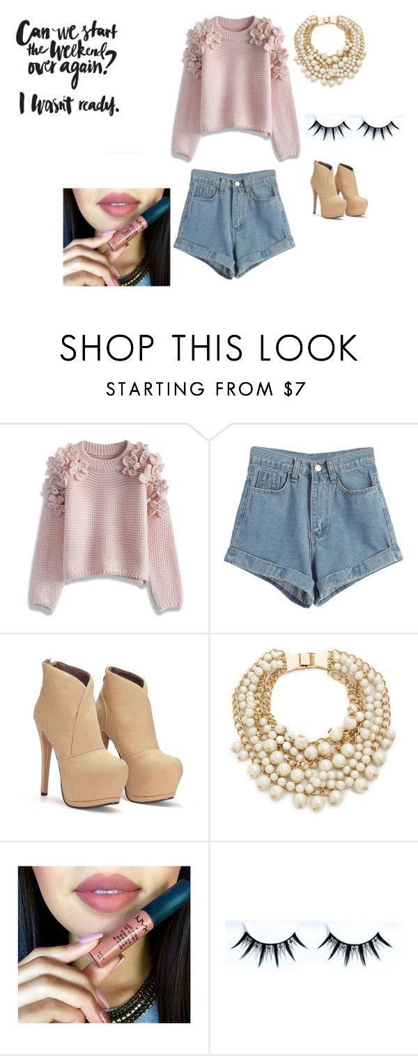 """spring style"" by lovelylittleone on Polyvore featuring Chicwish, WithChic, Kate Spade, women's clothing, women's fashion, women, female, woman, misses and juniors"
