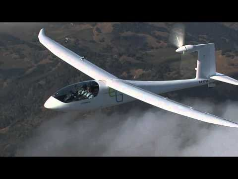 Very nice video of the e-Genius in flight.