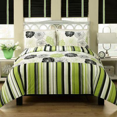 M. Style Gorgeous Duvet Set #Lime #Green #Bedding