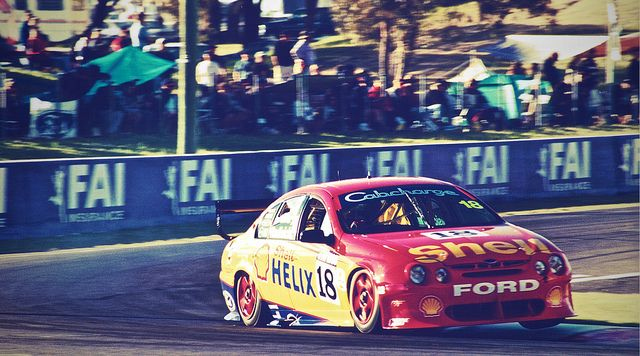 Mount Panorama V8 Supercars | Flickr - Photo Sharing! Dick Johnson Ford Falcon #ford #falcon #v8 #v8sc #supercar #motorsport