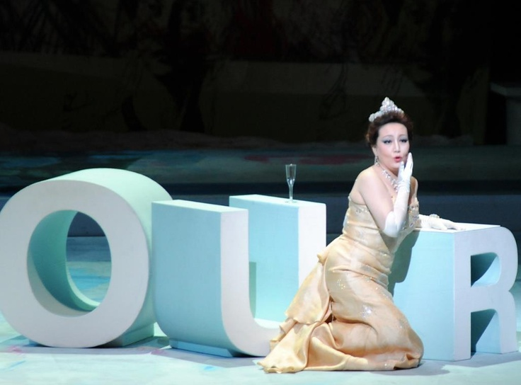 "19th Aspendos International Opera and Ballet Festival on 30 June Saturday 2012 ""LA TRAVIATA""  G. Verdi"