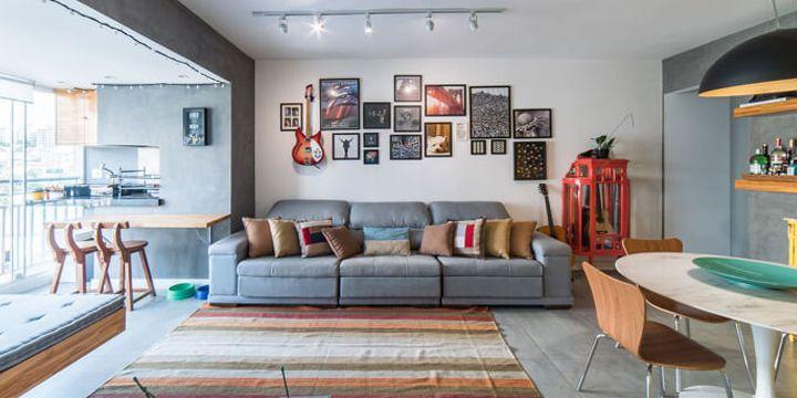 Dicas para escolher o sofá de 3 lugares em salas pequenas   – Adoro Dicas de Decoração!
