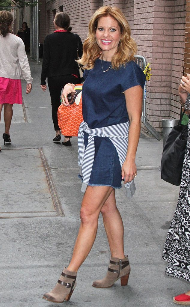 Candace Cameron-Bure from The Big Picture: Today's Hot Pics  The View co-host is all smiles strutting her stuff from the studio.