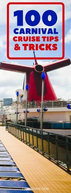 The ultimate Carnival cruise tips and tricks guide covering all aspects of your upcoming cruise vacation. Find some great advice to help you out so you can focus on having fun or relaxing.