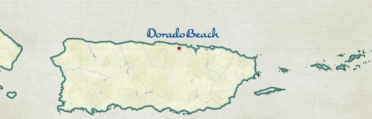 Dorado Beach Map