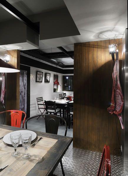 Fabrica Kreaton Restaurant, Komotini designed by Minas Kosmidis