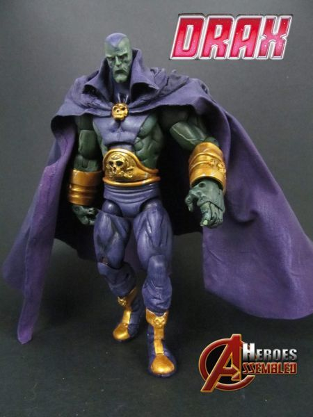Drax the Destroyer Classic Style (Marvel Legends) Custom Action Figure