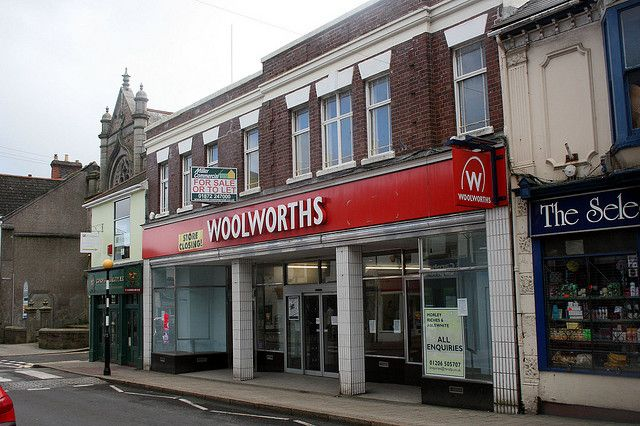 Woolworths Camborne RIP!